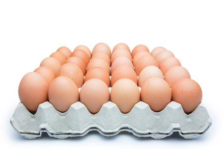 Eggs in the package photo