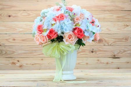 florist: Beautiful bouquet of flowers