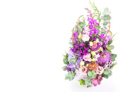 bouquet fleurs: Beau bouquet de fleurs, Espace texte