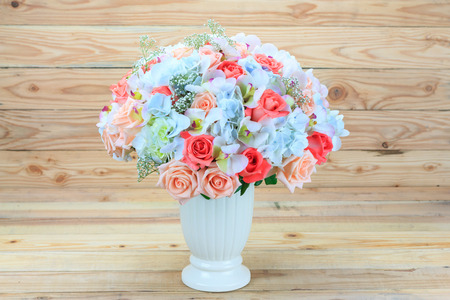 ramo de flores: Hermoso ramo de flores Foto de archivo