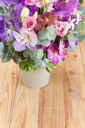 bunch of flowers: Beautiful bouquet of flowers