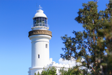 byron: Lighthouse at Byron Bay , NSW, Australia