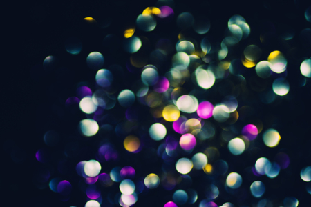 glitz: Beautiful abstract bokeh lights for background