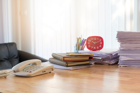 marca libros: Business concept of office working, business background