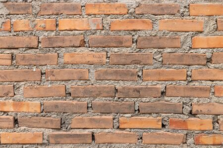 Close up vintage brick wall for background 版權商用圖片