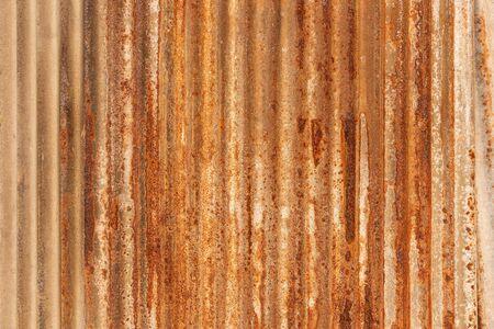 Orange Metal rusty background, Metal grunge texture on galvanized iron plate
