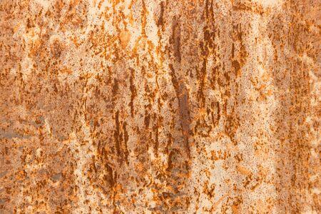 Orange Metal rusty background, Metal grunge texture