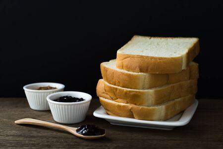 Bread_black background