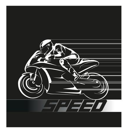 gp: Speed race icon Illustration
