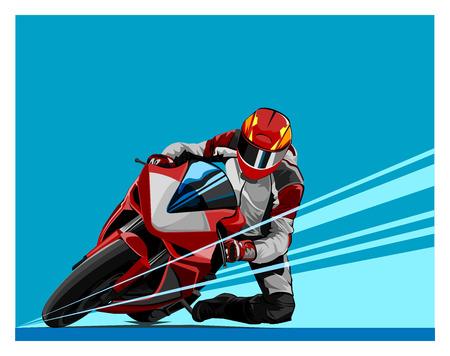 Vector illustration, shape world motor racing