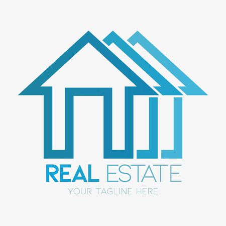 Vector abstract, real estate symbol Illustration