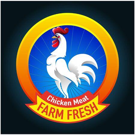 Vector abstract, Farm fresh symbol or icon