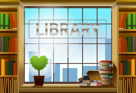 silent: Library is comfortable. Relaxed work. A day of learning.