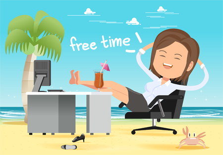 The fantasy of relaxation after working hard for many months has ended. Holiday bonuses are indispensable.