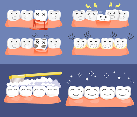 ignore: Problem of dental disease concept