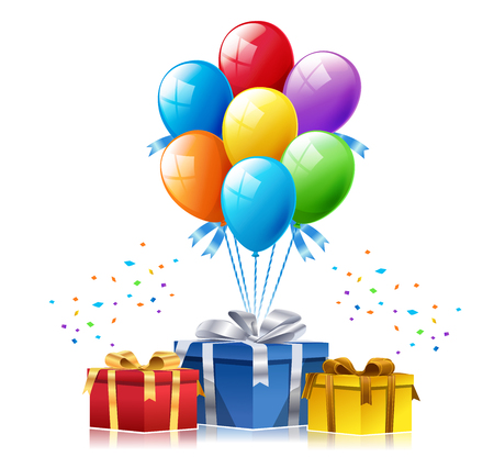 Amazing gift surprise vector