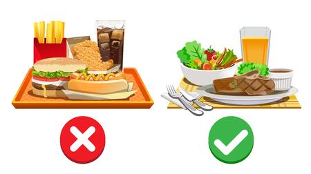 Opciones de dieta útiles. Elija alimentos que sean beneficiosos para el cuerpo.