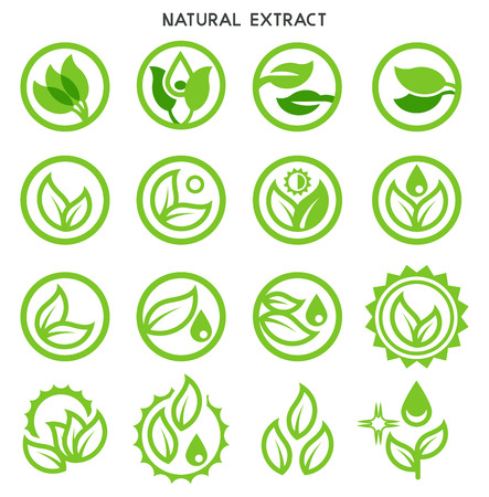 Plant extracts through research in the lab. Green care and non-toxic from science technology.