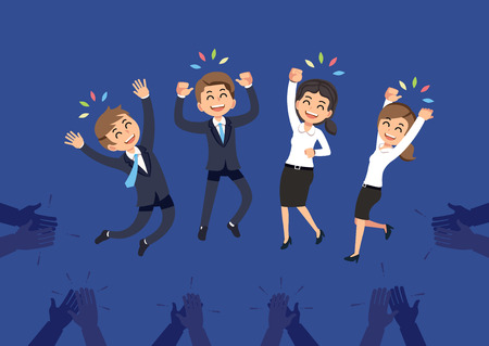 Congratulations to the successful employees. People worker have success with the goals set in company. The working good team and perfect idea.