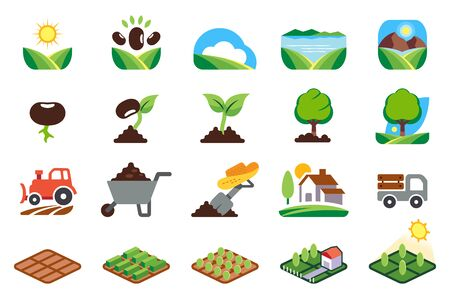 Small house farming and Agriculture in the area is abundant. Ilustração