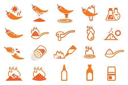 Chile para cocinar en diferentes tipos.
