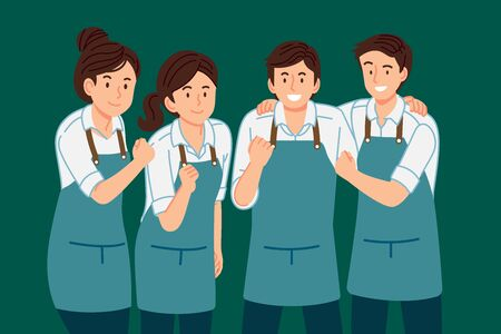 Good staff service team have work together to succeed. Happy working life.
