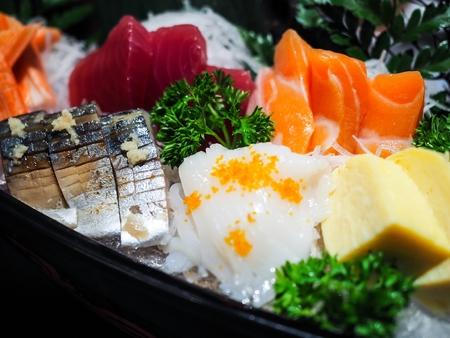 刺身は日本料理の最も有名な料理の一つ 写真素材