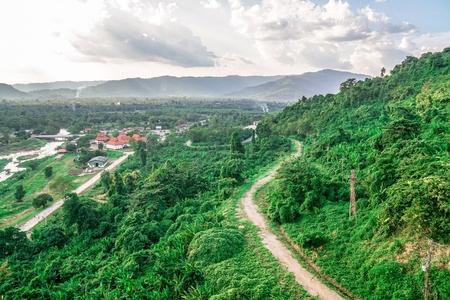 タイの山の風景