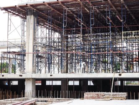 建設中に一般的な建築構造 写真素材