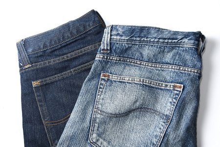 Two blue jeans photo