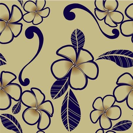 Plumeria flower wallpaper for design