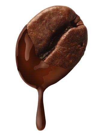 stimulant: Coffee Bean and Chocolate