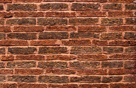 Red stone wall background image.