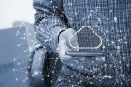 Touch network using  Cloud technology.