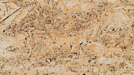 Textured and background of Bagasse plywood pattern, Fiberboard. Stock Photo