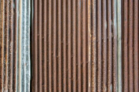 old galvanized sheet with rust. 写真素材