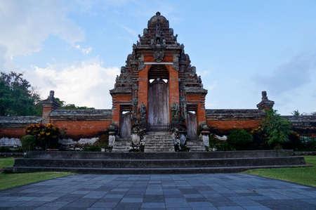 taman: Entrance Gate at Taman Ayun Royal Temple, Bali