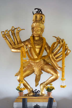 The god of brahmin have many hand on dance action Stock Photo - 18652444