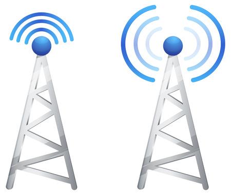 komunikacja: Komunikat Tower Ilustracja