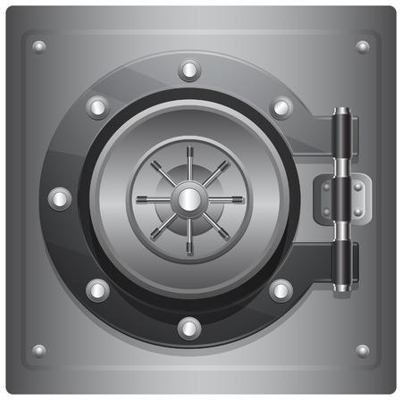 caja fuerte: Combinaci�n Segura - Ilustraci�n