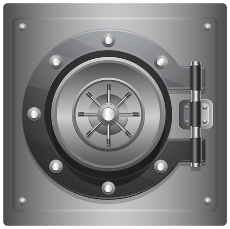 safe lock: Combination Safe - Illustration