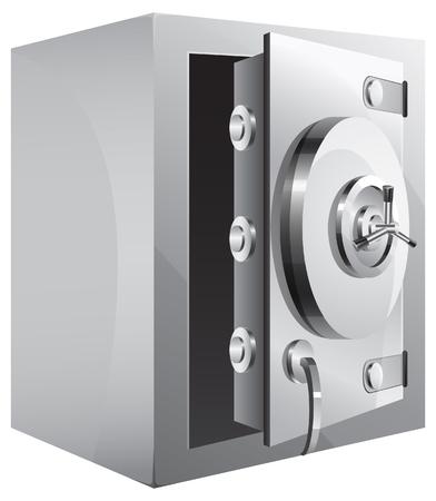 combination safe: Combination Safe - Illustration