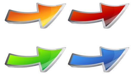 Arrow icon - Illustration as EPS 10 File.