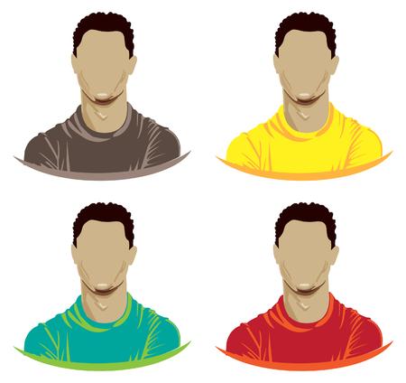 Sportsman Avatar Icon - Male - Illustration as EPS 10 File
