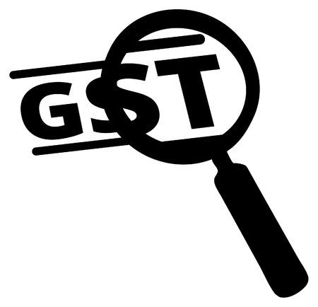 Government Tax - Review GST - Illustration as EPS 10 File Illustration