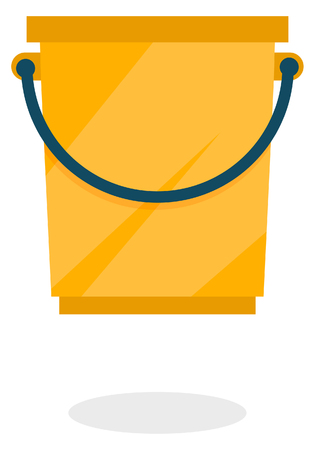 storage: Bucket Icon Illustration as EPS 10 File