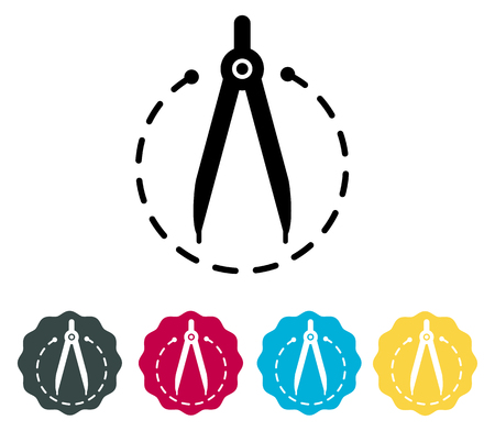 Drawing compass - Icon