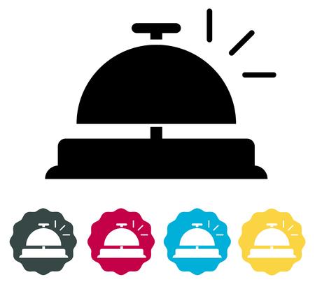 Concierge Bell Icône - Illustration comme fichier EPS 10 Vecteurs
