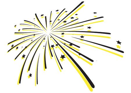 Fireworks Burst - Vector as EPS 10 File