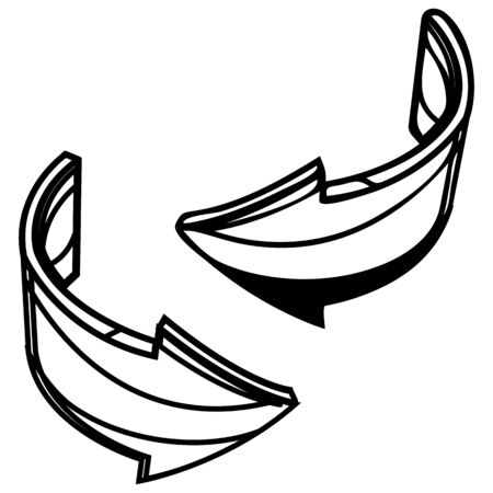 Swap  Arrow icon - Illustration as   File Çizim